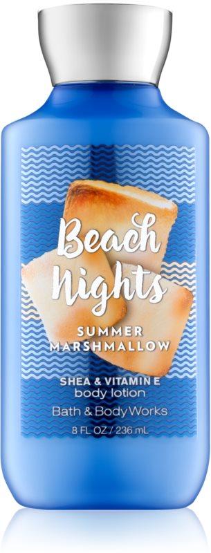 Bath & Body Works Beach Nights Summer Marshmallow latte corpo per donna 236 ml