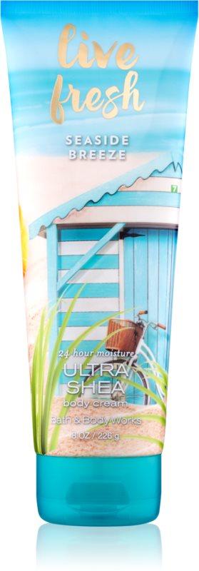Bath & Body Works Live Fresh Seaside Breeze Body Cream for Women 226 g