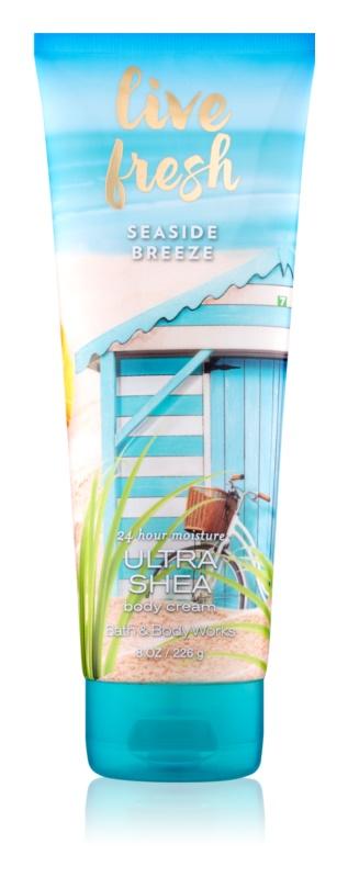 Bath & Body Works Live Fresh Seaside Breeze crème corps pour femme 226 g