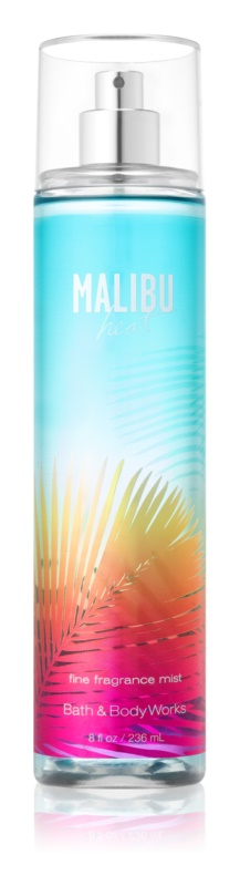 Bath & Body Works Malibu Heat Bodyspray  voor Vrouwen  236 ml