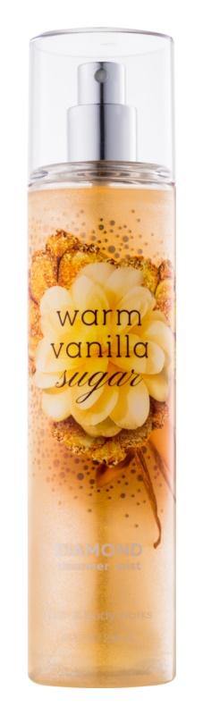 Bath & Body Works Warm Vanilla Sugar spray corporal para mujer 236 ml Brillante
