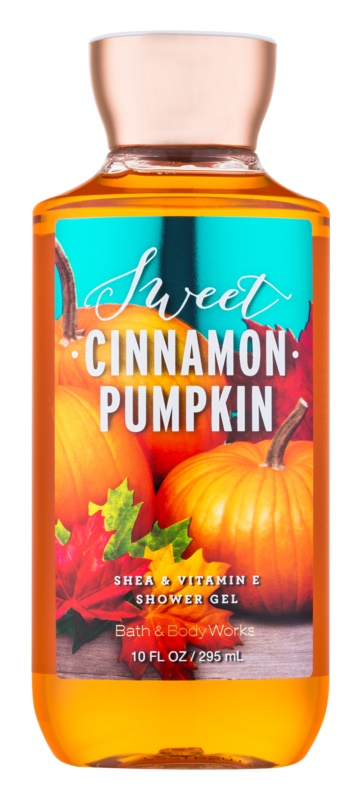 Bath & Body Works Sweet Cinnamon Pumpkin Douchegel voor Vrouwen  295 ml