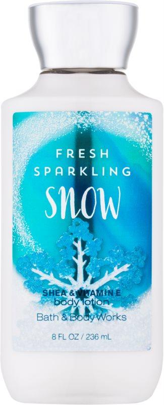 Bath & Body Works Fresh Sparkling Snow mleczko do ciała dla kobiet 236 ml
