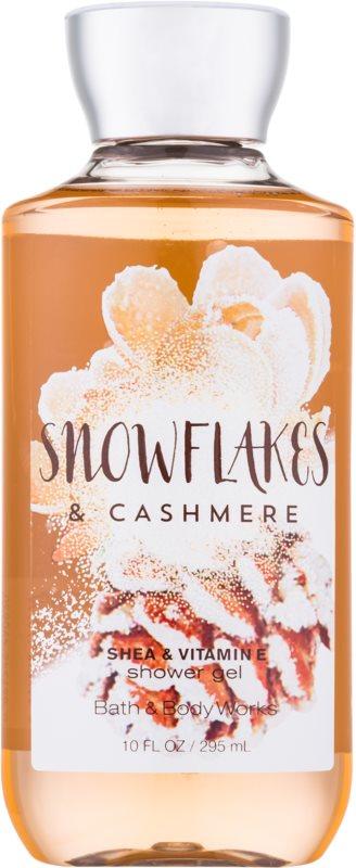 Bath & Body Works Snowflakes & Cashmere tusfürdő nőknek 295 ml