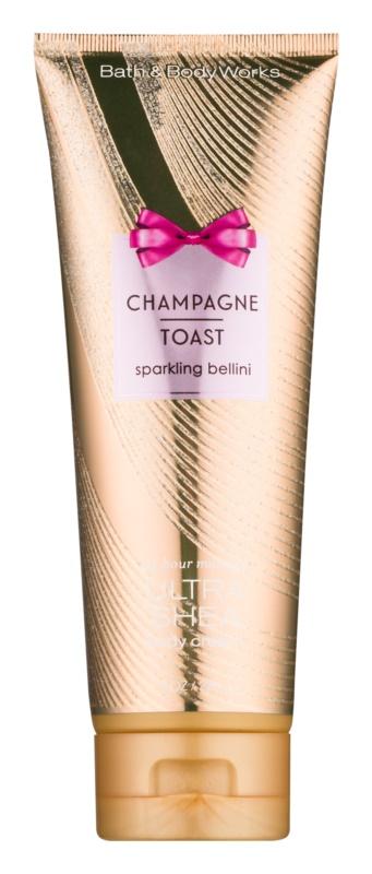 Bath & Body Works Champagne Toast Körpercreme für Damen 226 ml