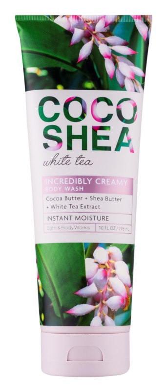 Bath & Body Works Cocoshea White Tea Shower Cream for Women 296 ml