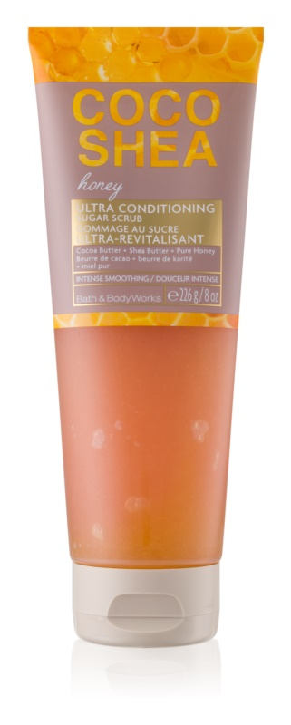Bath & Body Works Cocoshea Honey exfoliant de corp pentru femei 226 g I. linistitor
