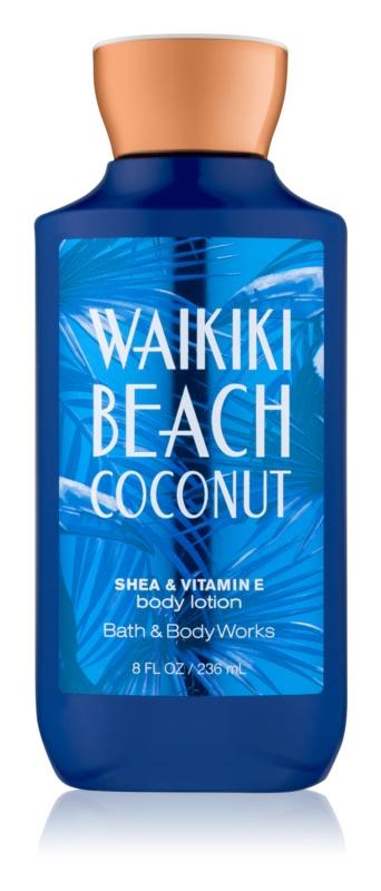 Bath & Body Works Waikiki Beach Coconut telové mlieko pre ženy 236 ml
