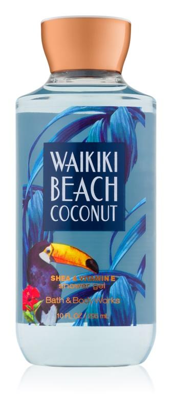 Bath & Body Works Waikiki Beach Coconut Douchegel voor Vrouwen  295 ml I.