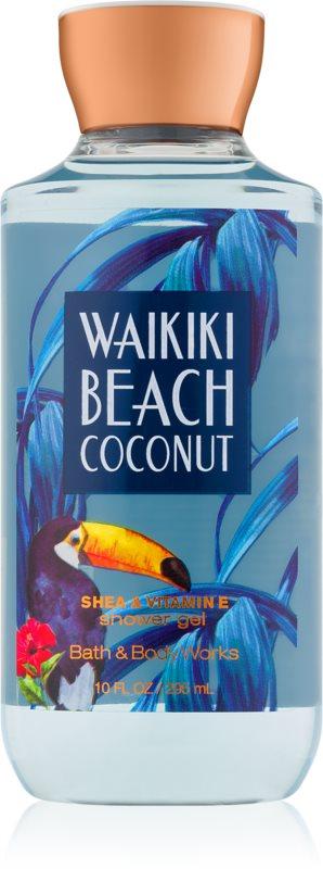 Bath & Body Works Waikiki Beach Coconut sprchový gel pro ženy 295 ml I.