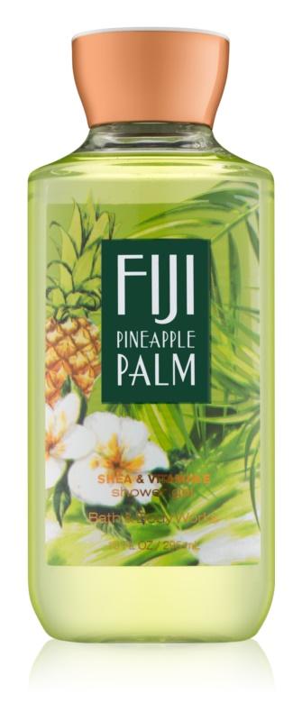 Bath & Body Works Fiji Pineapple Palm gel doccia per donna 295 ml