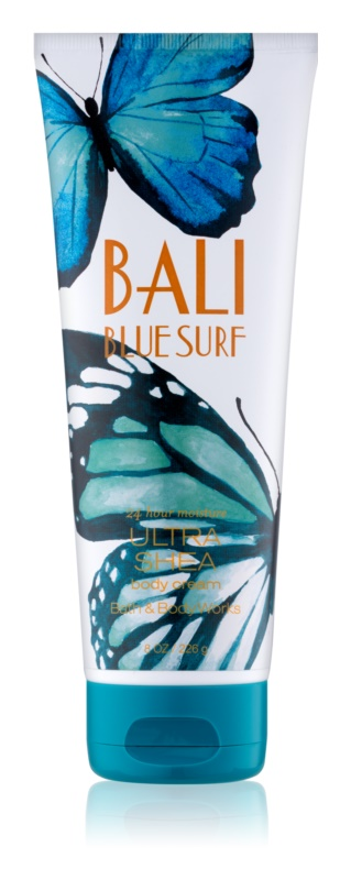 Bath & Body Works Bali Blue Surf telový krém pre ženy 226 g
