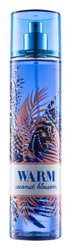 Bath & Body Works Warm Coconut Blossom Body Spray for Women 236 ml