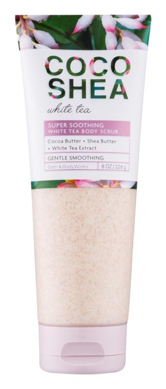 Bath & Body Works Cocoshea White Tea piling za tijelo za žene 226 g