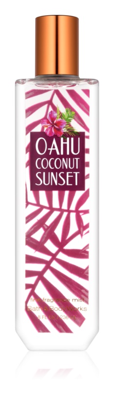 Bath & Body Works Oahu Coconut Sunset Bodyspray  voor Vrouwen  236 ml