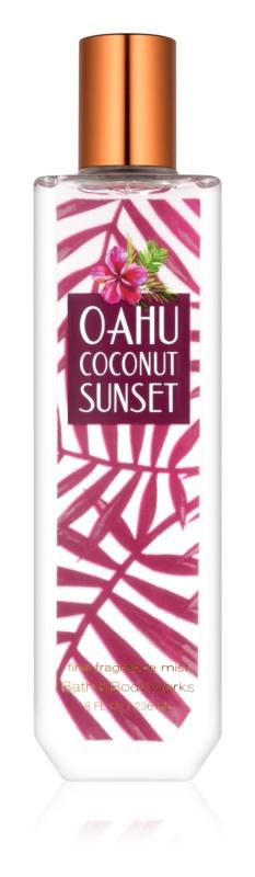 Bath & Body Works Oahu Coconut Sunset telový sprej pre ženy 236 ml