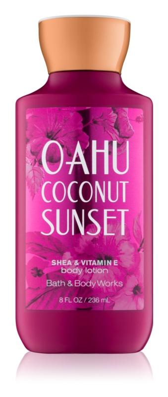 Bath & Body Works Oahu Coconut Sunset Körperlotion für Damen 236 ml