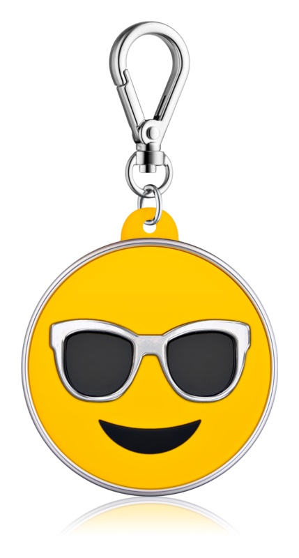 Bath & Body Works PocketBac Sunglasses Emoji Silikonhülle für das Handgel