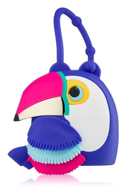 Bath & Body Works PocketBac Parrot embalagem de slicone com gel antibacteriano