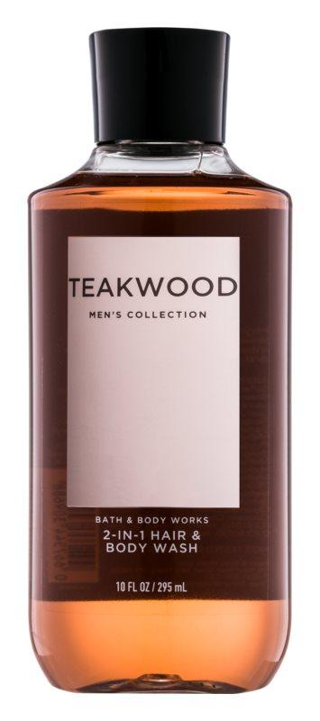 Bath & Body Works Men Teakwood Douchegel voor Mannen 295 ml