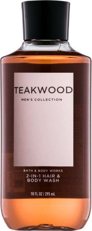 Bath & Body Works Men Teakwood sprchový gel pro muže 295 ml