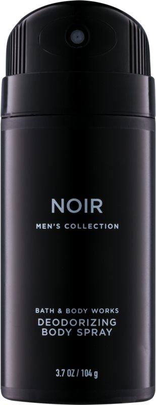 Bath & Body Works Men Noir déo-spray pour homme 104 g