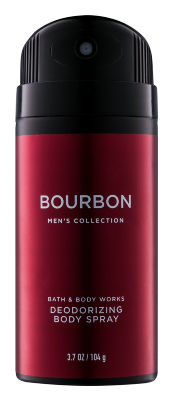 Bath & Body Works Men Bourbon Deo Spray voor Mannen 104 gr