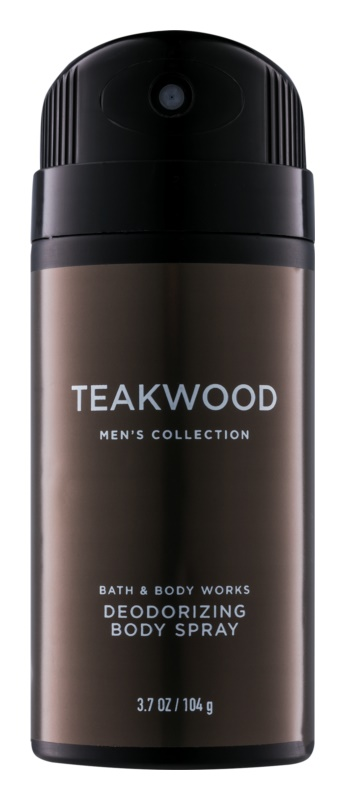 Bath & Body Works Men Teakwood déo-spray pour homme 104 g
