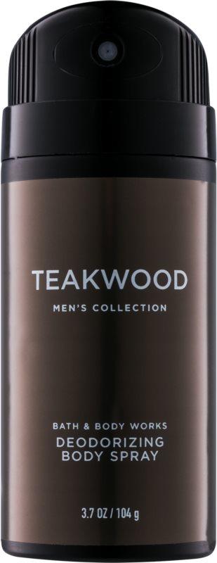 Bath & Body Works Men Teakwood Deo Spray voor Mannen 104 gr