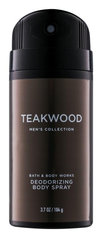 Bath & Body Works Men Teakwood deo sprej za moške 104 g
