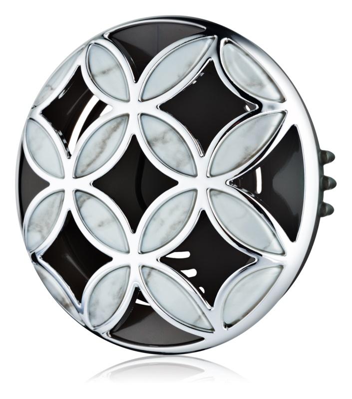 Bath & Body Works Silver Shiny Pattern suport auto pentru miros   Clip
