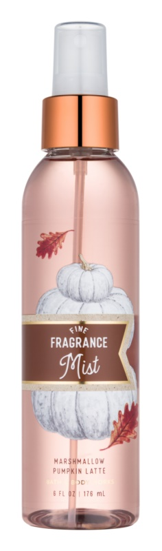 Bath & Body Works Marshmallow Pumpkin Latte spray pentru corp pentru femei 176 ml