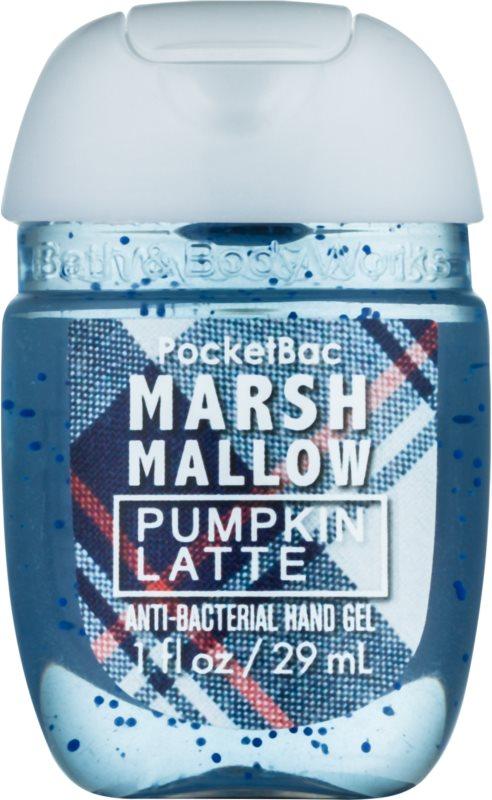 Bath & Body Works PocketBac Marshmallow Pumpkin Latte antibakteriálny gél na ruky