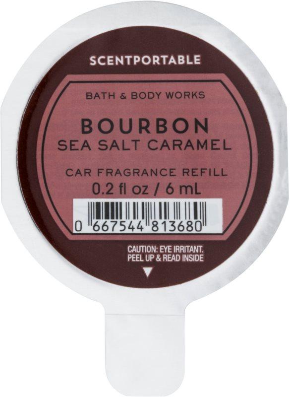 Bath & Body Works Bourbon Sea Salt Caramel Autoduft 6 ml Ersatzfüllung