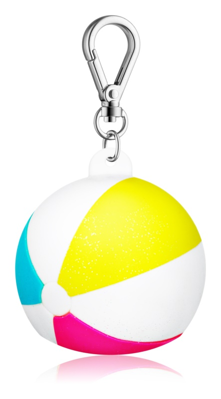 Bath & Body Works PocketBac Beach Ball Silicone Hand Gel Packaging