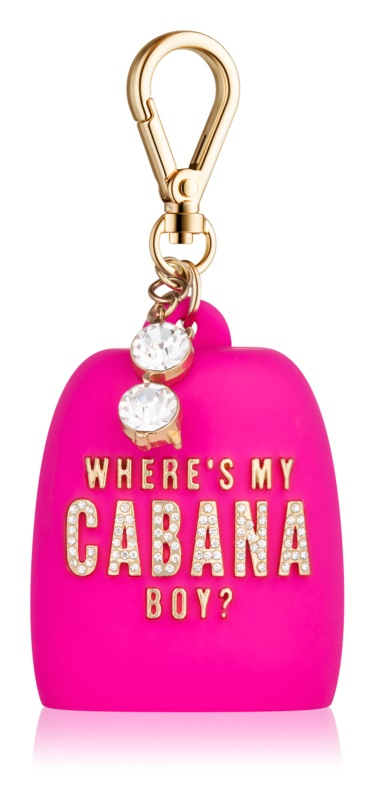 Bath & Body Works PocketBac Where's My Cabana Boy? estuche de silicona para gel de manos