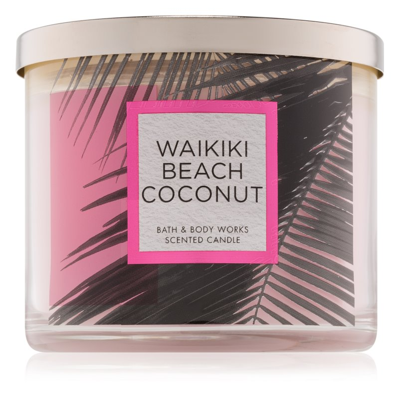 Bath & Body Works Waikiki Beach Coconut Geurkaars 411 gr