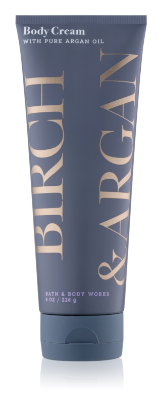 Bath & Body Works Birch & Argan Body Cream for Women 226 g