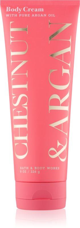 Bath & Body Works Chestnut & Argan crème corps pour femme 226 g