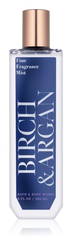 Bath & Body Works Birch & Argan tělový sprej pro ženy 236 ml