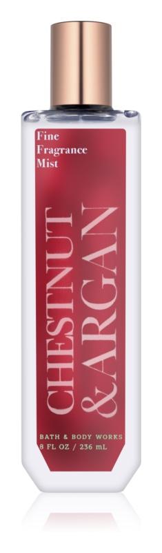 Bath & Body Works Chestnut & Argan testápoló spray nőknek 236 ml