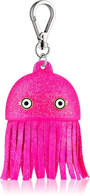 Bath & Body Works PocketBac Pink Jellyfish casetă strălucitoare pentru gelul de mâini