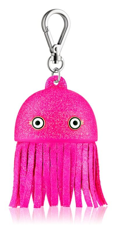 Bath & Body Works PocketBac Pink Jellyfish Leuchtende Silikonhülle für antibakterielles Gel