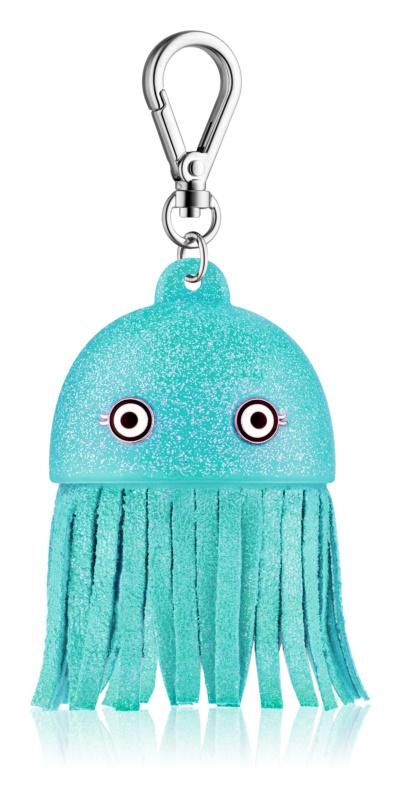 Bath & Body Works PocketBac Blue Jellyfish Leuchtende Silikonhülle für antibakterielles Gel