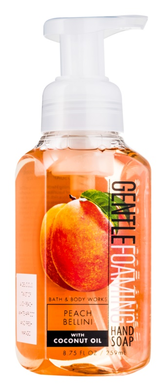 Bath & Body Works Peach Bellini hab szappan kézre