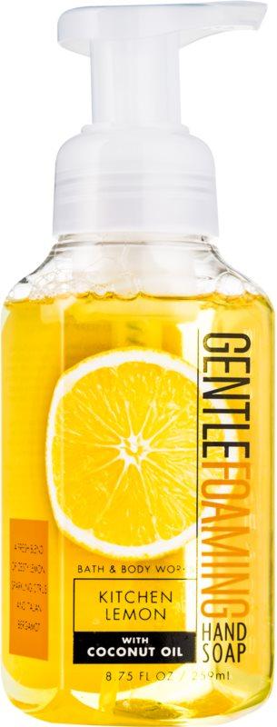 Bath & Body Works Kitchen Lemon Foaming Hand Soap