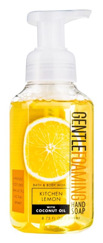 Bath & Body Works Kitchen Lemon hab szappan kézre