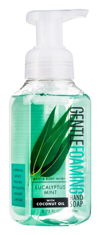 Bath & Body Works Eucalyptus Mint mydło w piance do rąk