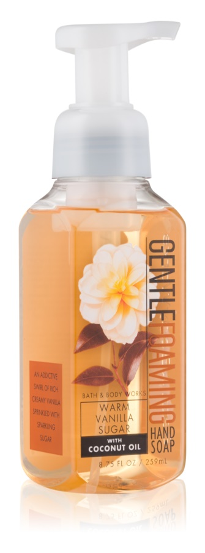 Bath & Body Works Warm Vanilla Sugar pěnové mýdlo na ruce