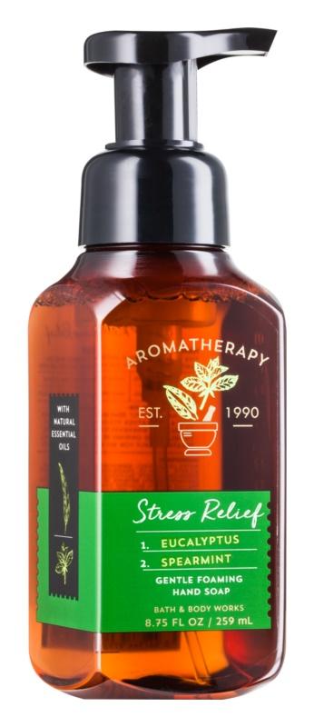 Bath & Body Works Stress Relief Eukalyptus Spearmint pěnové mýdlo na ruce